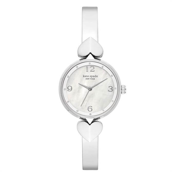 Kate Spade New York Hollis Three Hand Stainless Steel Bangle Watch