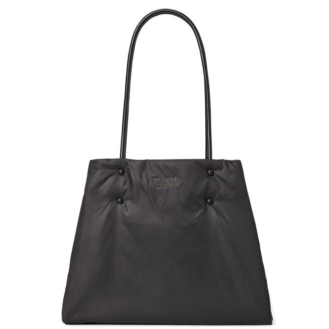 Kate Spade New York Everything Puffy Large Black Tote Bag