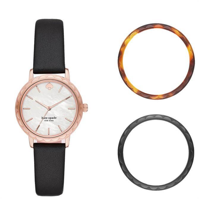 Kate Spade New York Morningside Interchangeable Top Ring Watch