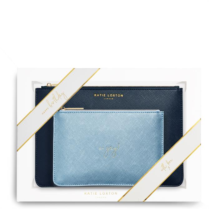 Katie Loxton Happy Birthday Yay Perfect Pouch Gift Set