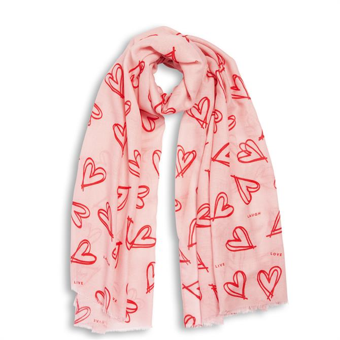 Katie Loxton Live Laugh Love Boxed Scarf