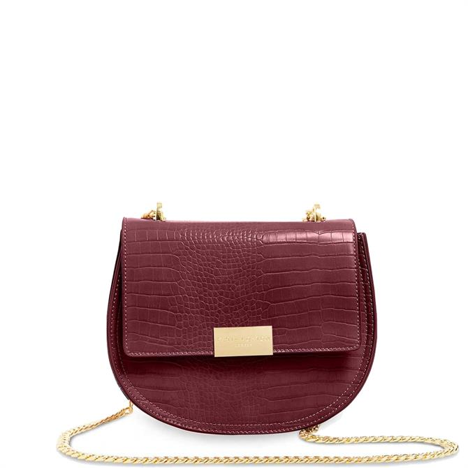 Katie Loxton Celine Faux Croc Saddle Bag