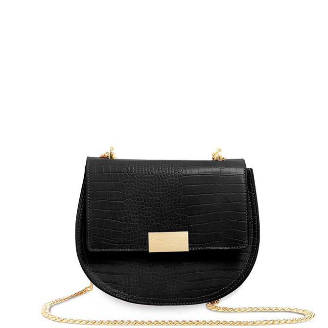 Katie Loxton Celine Faux Croc Saddle Bag