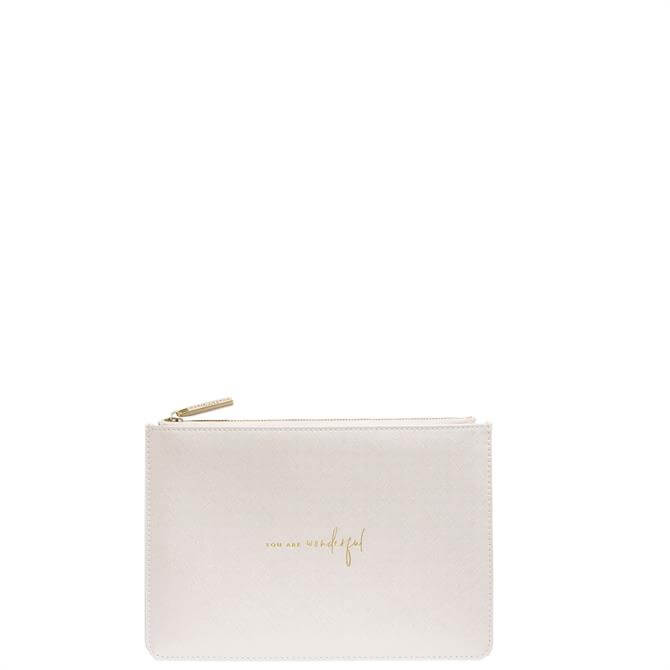 Katie Loxton 'You Are Wonderful' Perfect Pouch