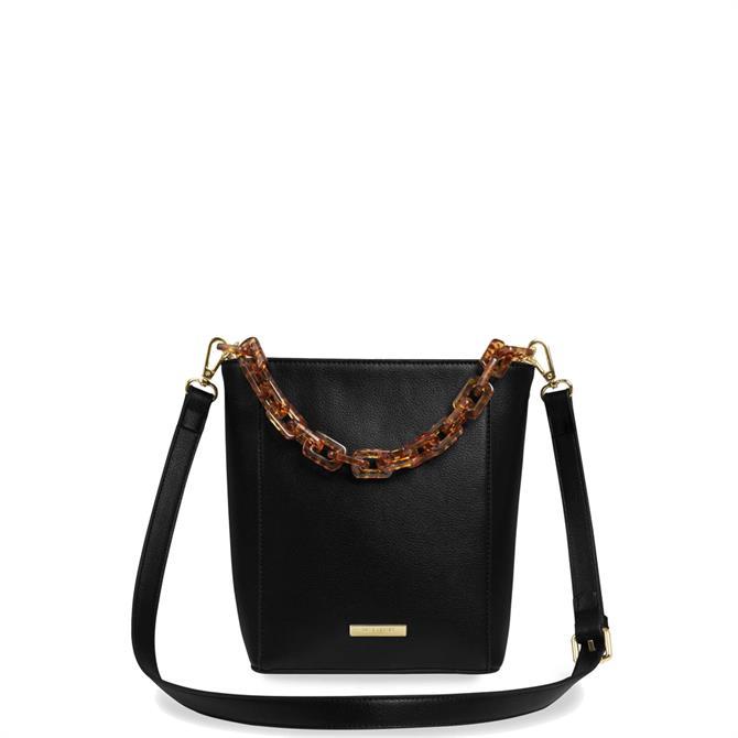 Katie Loxton Ayla Tortoiseshell Black Bag