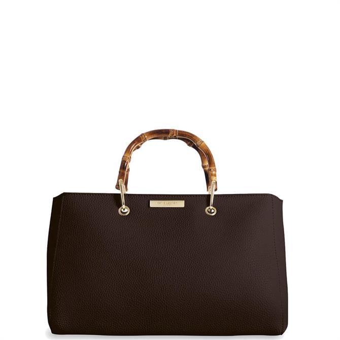 Katie Loxton Avery Bamboo Dark Brown Bag