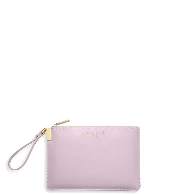 Katie Loxton 'Amazing Friend, You Are The Best Friend' Lilac Secret Message Pouch