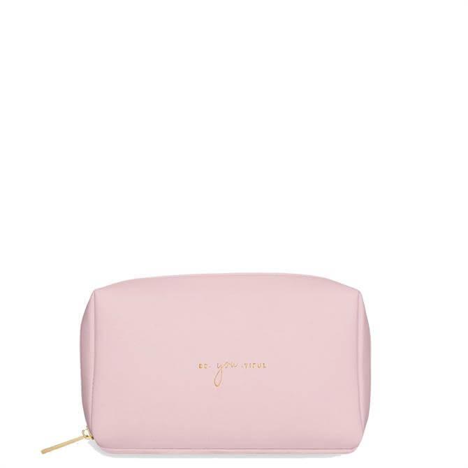 Katie Loxton Colour Pop 'Be-You-Tiful' Pink Make Up Bag