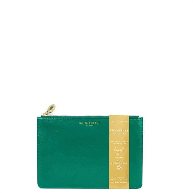 Katie Loxton August Birthstone Perfect Pouch