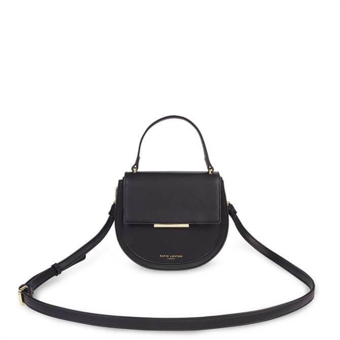 Katie Loxton Alyce Black Saddle Bag