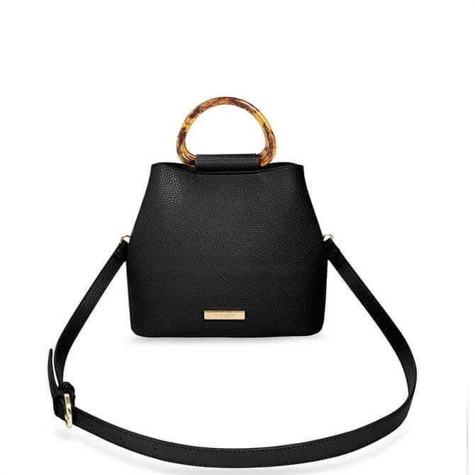 Katie Loxton Tori Tortoiseshell Black Bag