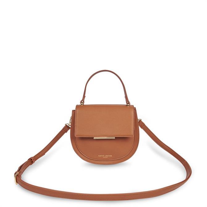 Katie Loxton Alyce Cognac Saddle Bag