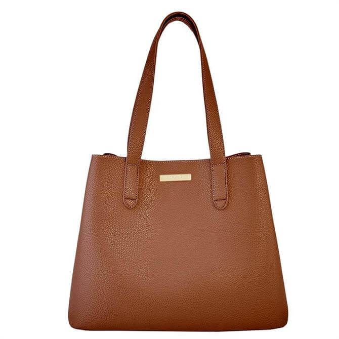 Katie Loxton Riley Cognac Shoulder Bag