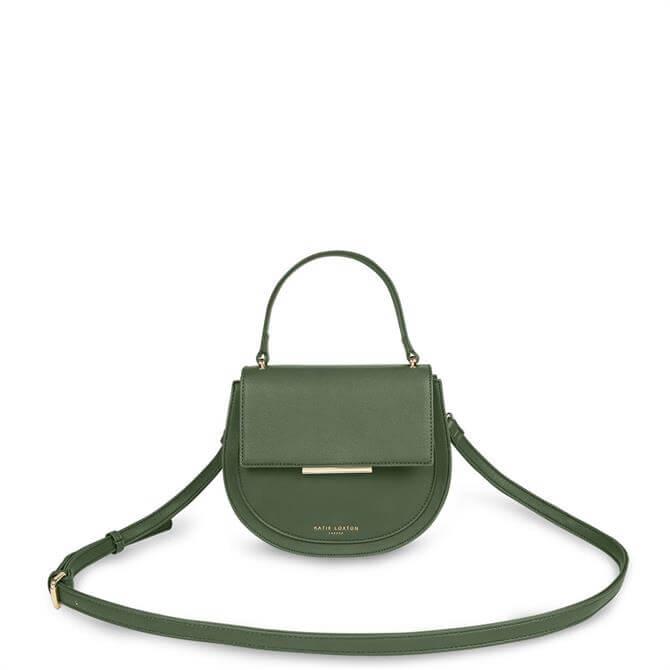 Katie Loxton Alyce Khaki Saddle Bag