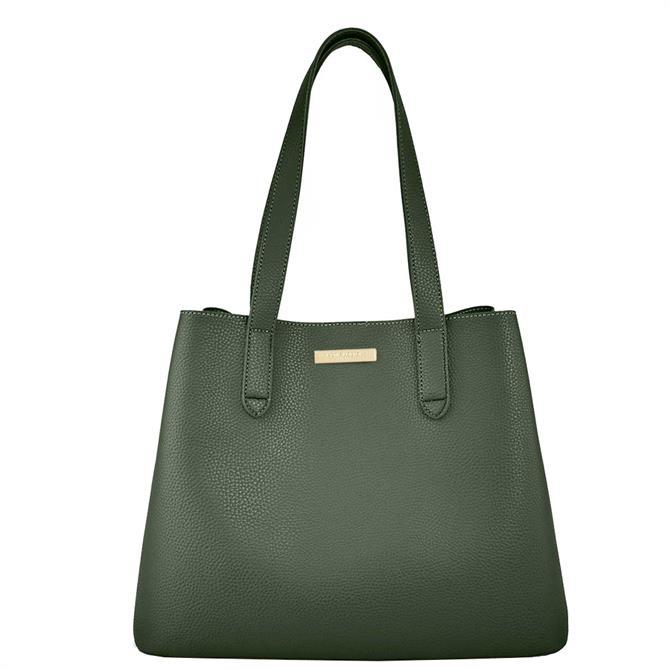 Katie Loxton Riley Khaki Shoulder Bag