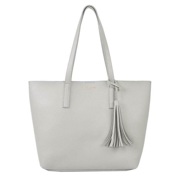 Katie Loxton Tavi Tassel Grey Tote Bag