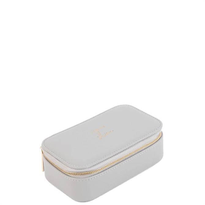 Katie Loxton 'Time to Shine' Medium Grey Jewellery Box