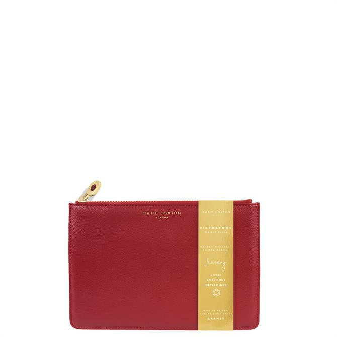 Katie Loxton January Birthstone Perfect Pouch