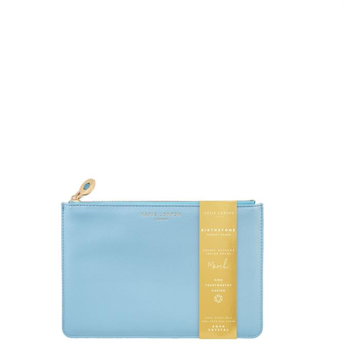 Katie Loxton March Birthstone Perfect Pouch