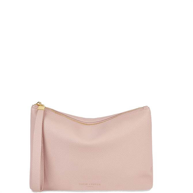 Katie Loxton Isa Pale Pink Clutch Bag