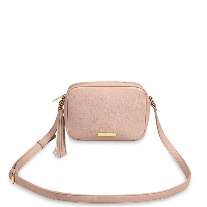 Katie Loxton Sophia Tassel Pale Pink Crossbody Bag