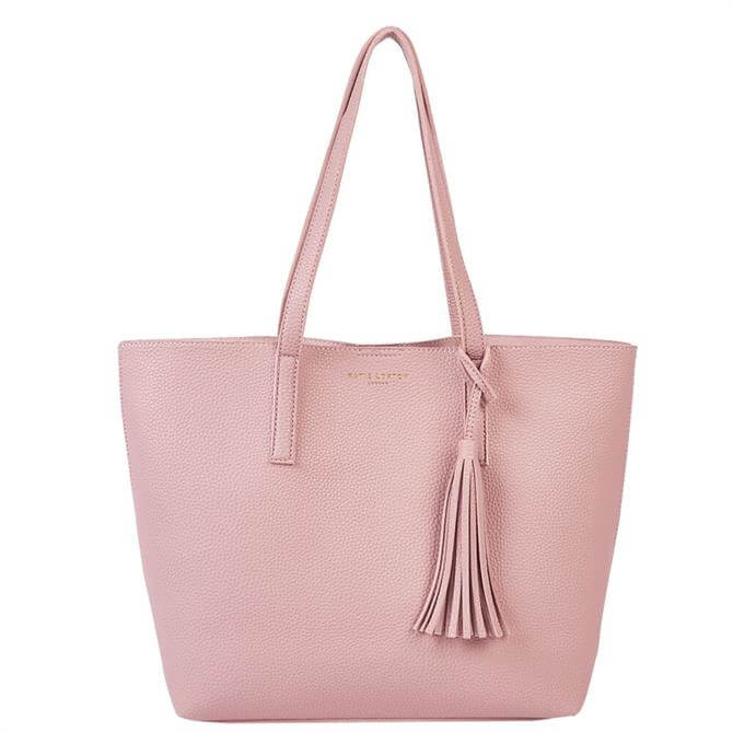 Katie Loxton Tavi Tassel Pink Tote Bag