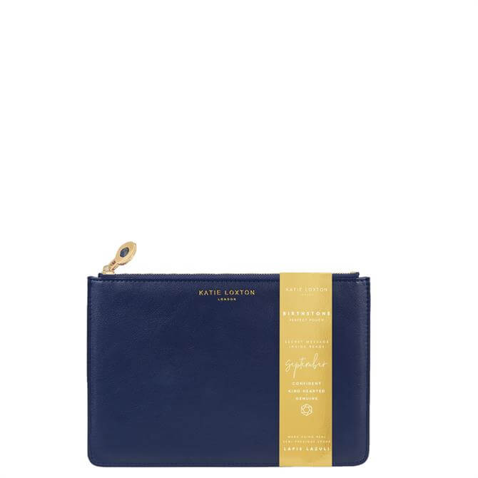 Katie Loxton September Birthstone Perfect Pouch