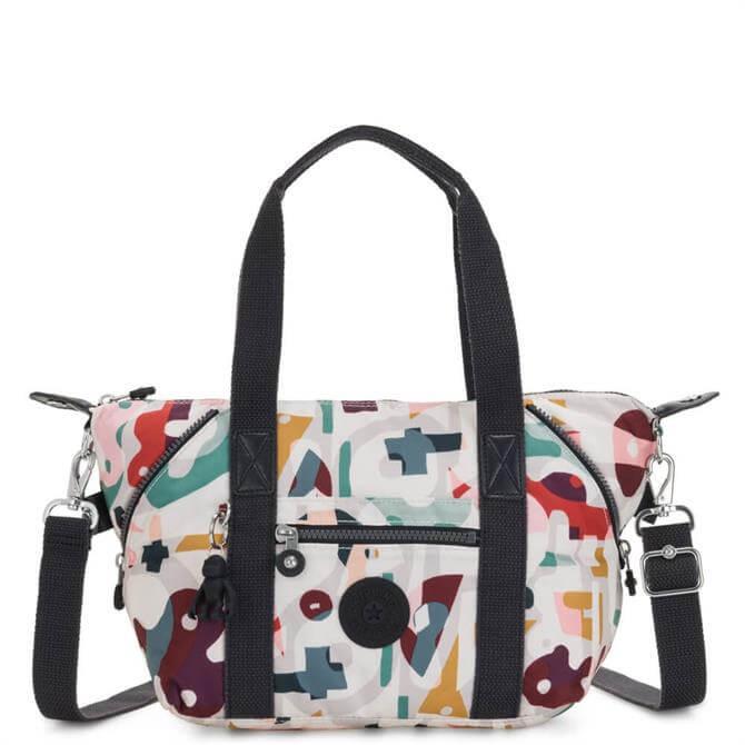 Kipling Art Mini Music Print Handbag