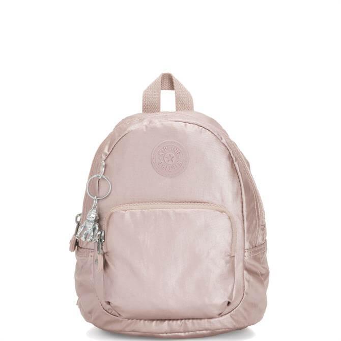 Kipling Metallic Rose Extra Small 3 in I Backpack