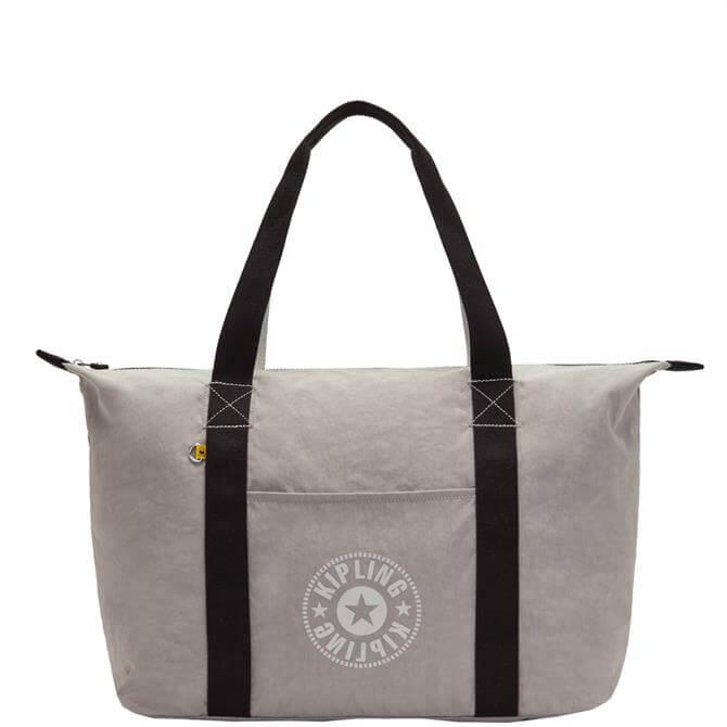 Kipling Art M Lite Grey Gris Large Tote Bag