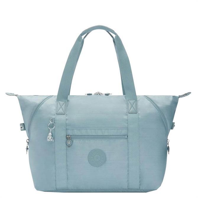 Kipling Art M Sea Glass Travel Tote Bag