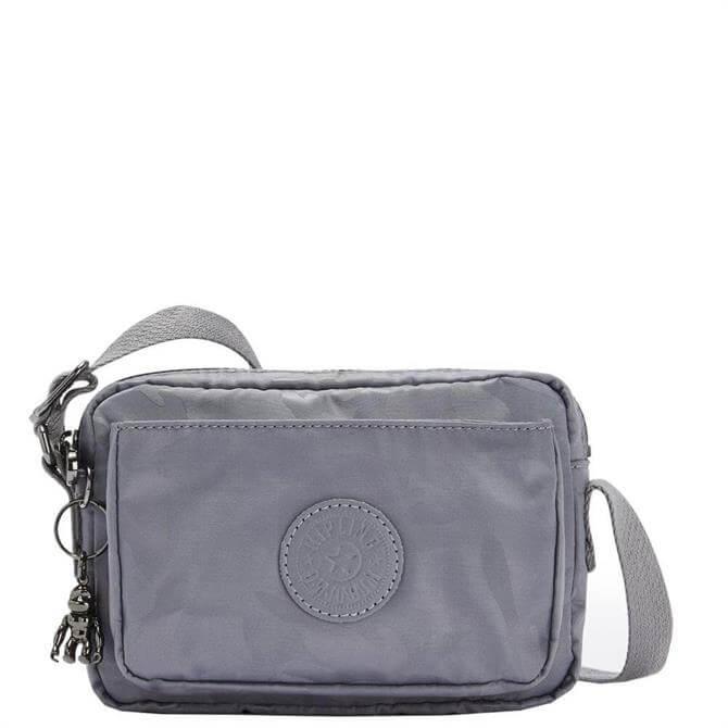 Kipling Abanu Grey Camo Mini Crossbody Bag