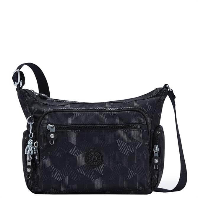 Kipling Gabbie S Mysterious Grid Crossbody Bag with Phone Compartment