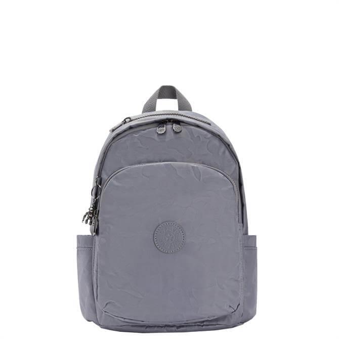 Kipling Delia Grey Camo Small Convertible Backpack