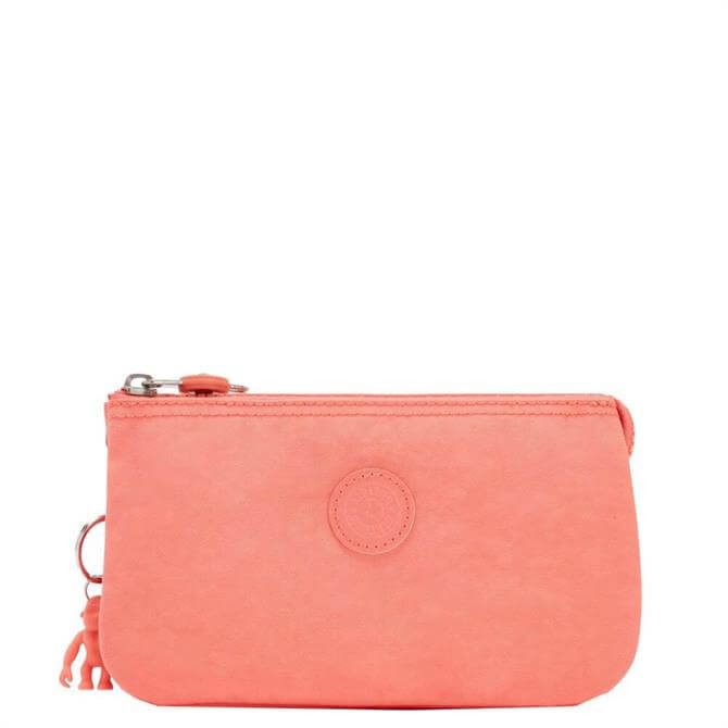 Kipling Creativity L Large Coral Multi-Use Pouch