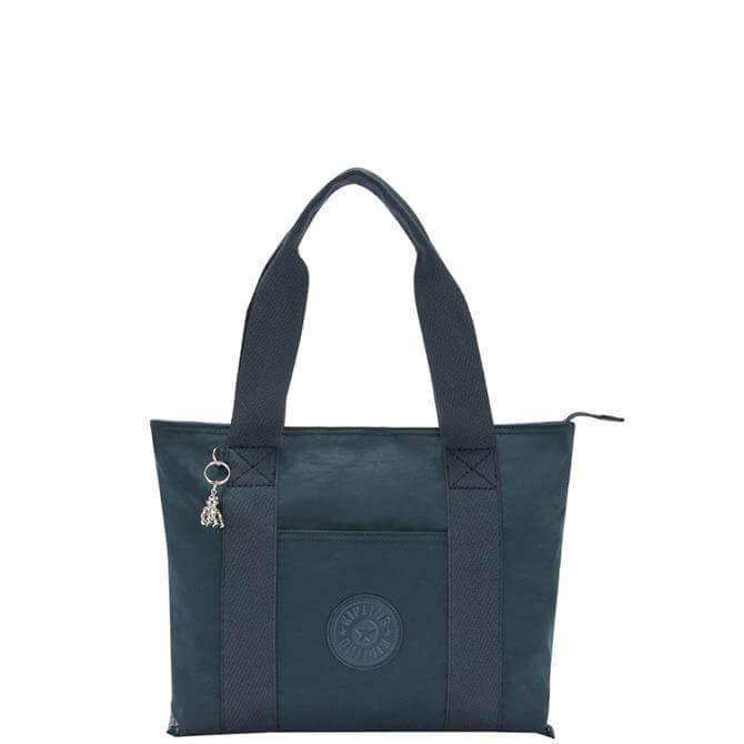 Kipling Era S Rich Blue Small Tote Bag
