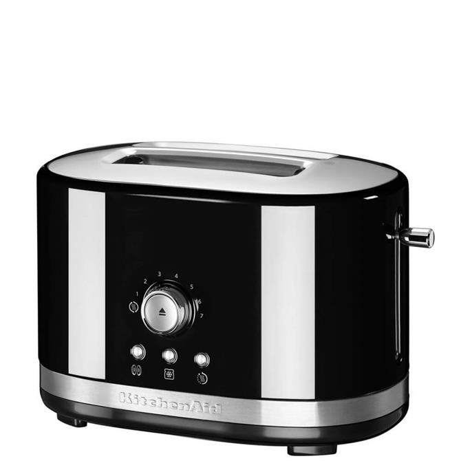 KitchenAid Oynx Black Manual Control Toaster