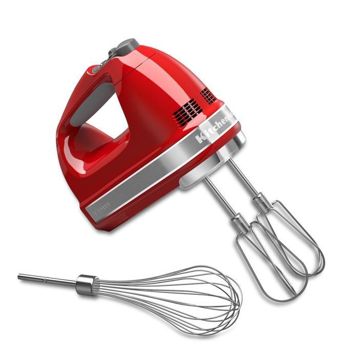 KitchenAid Empire Red 7 Speed Hand Mixer