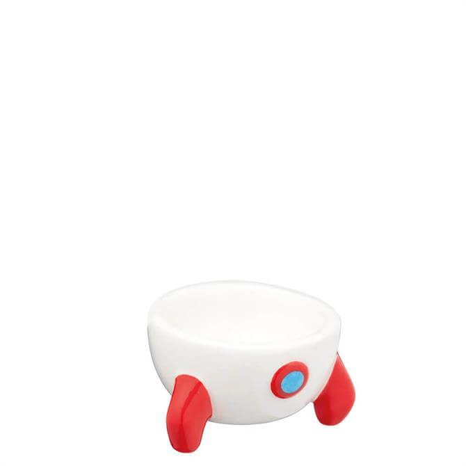 KitchenCraft Rocket Shaped Ceramic Eggcup
