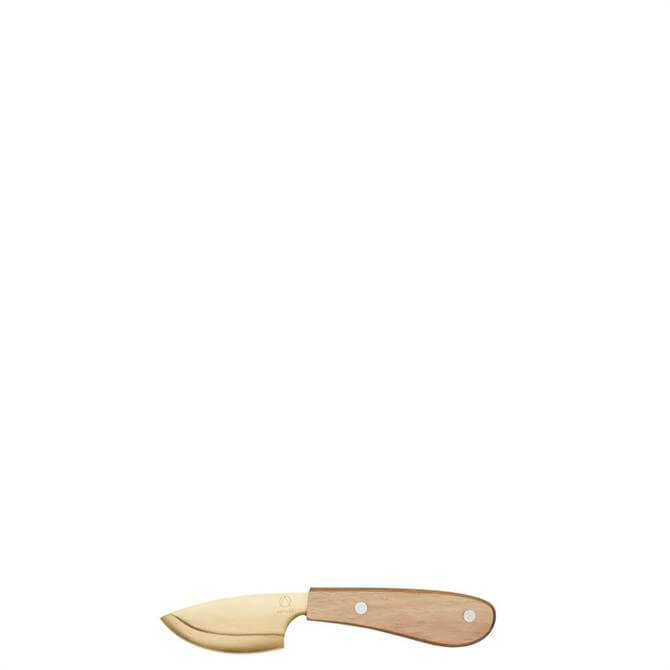 Artesa Hard Cheese Cleaver Knife with Acaica Wood Handle