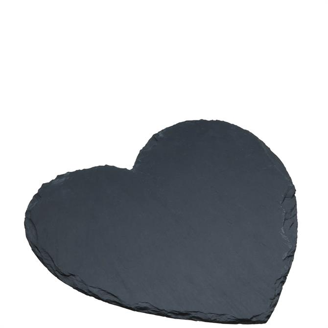 Artesà Appetiser Heart Shaped Slate Serving Board