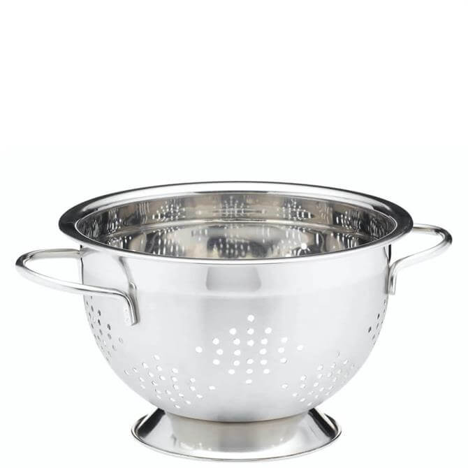 MasterClass Deluxe Stainless Steel Two Handled Colander 21.5cm