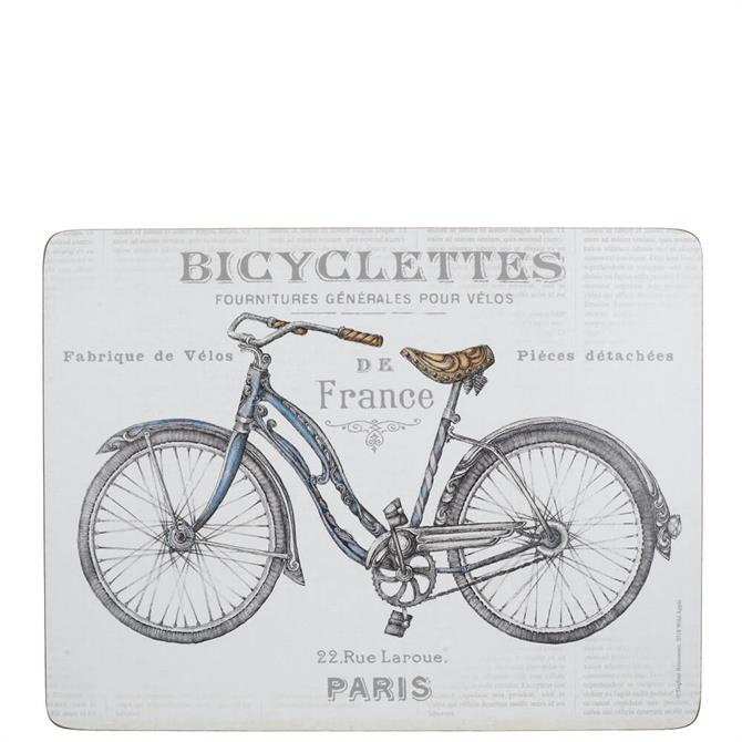 Creative Tops Set of 6 Bicycle Placemats