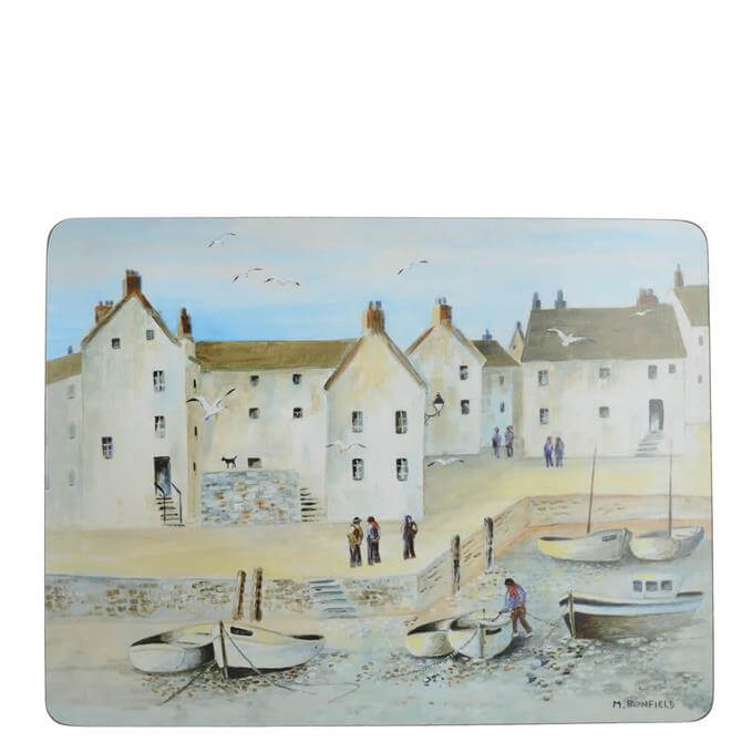 Creative Tops Set of 6 Cornish Harbour Placemats
