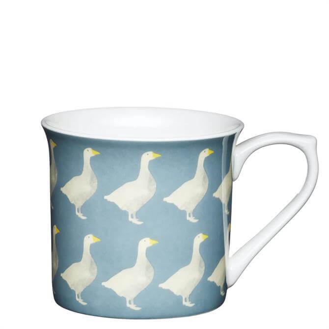 KitchenCraft Fine Bone China Fluted Geese Mug