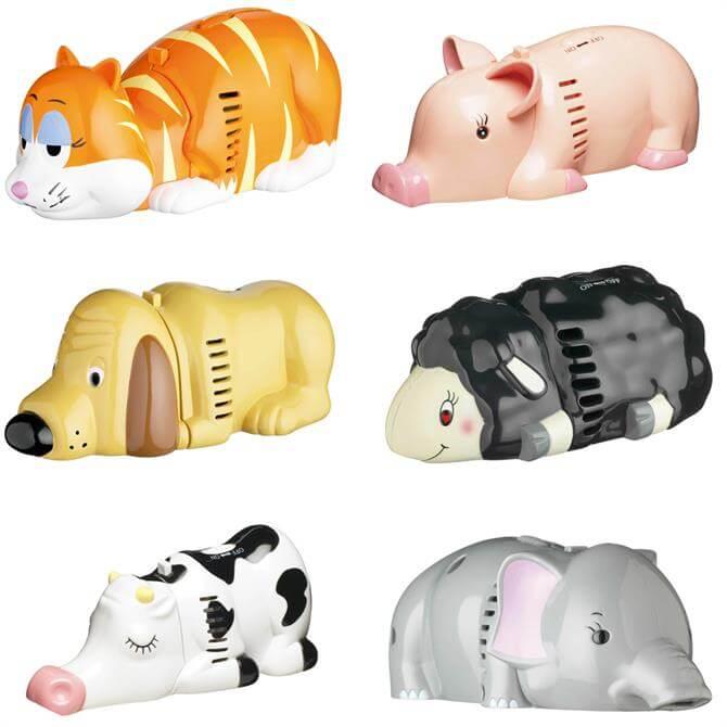 Kitsch'n'Fun Table Top Assorted Animal Vacuum Cleaners