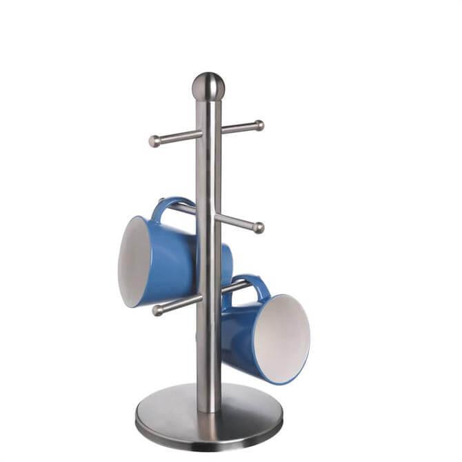 MasterClass Deluxe Stainless Steel Six Hook Mug Tree