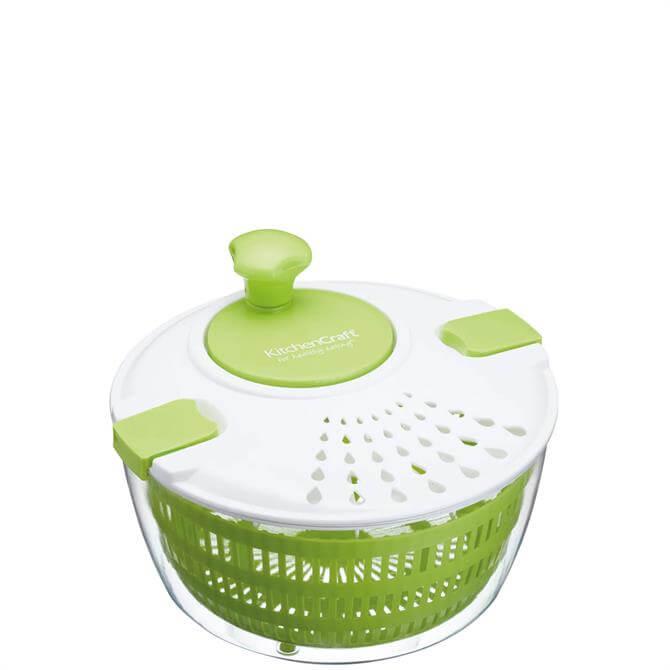 KitchenCraft Healthy Eating Salad Spinner/Drainer & Dresser