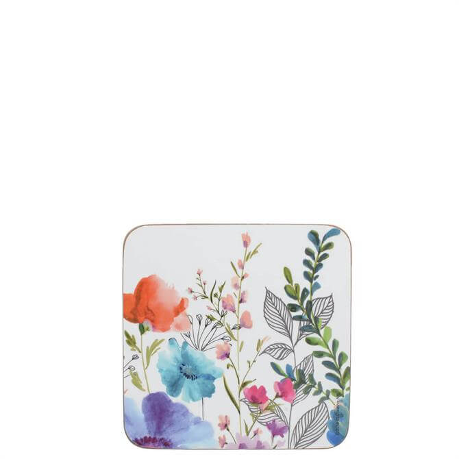 Creative Tops Meadow Floral Set of 6 Coasters