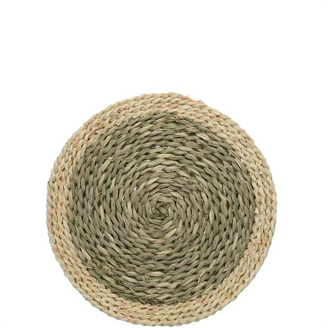 Creative Tops Natural Woven Grass Set of 2 Placemats